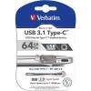 Verbatim On The Go USB-C Drive 3.1 32GB