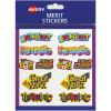 Avery Merit Stickers Caption Shapes 18X30mm Pk120