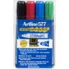 Artline 577 Whiteboard Marker Bullet 2mm Assorted Colours Pack Of 4