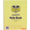 Spirax 593 Notebook 250x200mm Quarto 120 Page Side Opening  252x200mm
