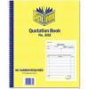Spirax 502 Business Book Duplicate Quarto Quotation Carbonless Side Opening