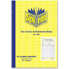 Spirax 555 Business Book Invoice Statement 207x144mm Carbonless Side Opening