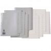 Marbig Plastic Divider A4 Indices 1-20 Grey