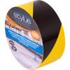 Stylus 471 Floor Marking Tape 48mmx33m Hazard Yellow & Black