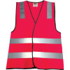 Zions Hi-Vis Night Safety Vest Pink