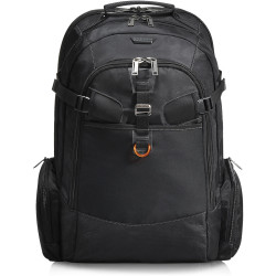 Everki 18.4 Inch Business 120 Travel Friendly Laptop Backpack Black