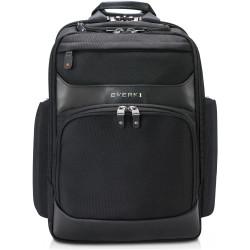 Everki 15.6 Inch Onyx Premium Travel Friendly Backpack Black