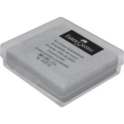 Faber-Castell Eraser 35x40x10mm Kneadable Grey Phthalate Free