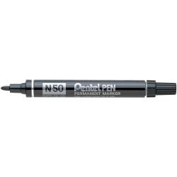 Pentel N50 Permanent Markers Bullet 1.5mm Black
