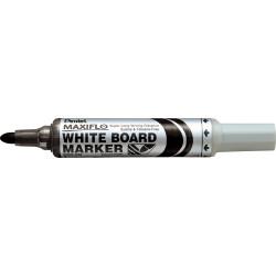 Pentel MWL5 Maxiflo Whiteboard Marker Bullet 2.1mm Pump Black