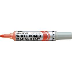 Pentel MWL5 Maxiflo Whiteboard Marker Bullet 2.1mm Pump Red