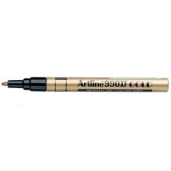 Artline 990XF Metallic Marker Fine Bullet 1.2mm Gold