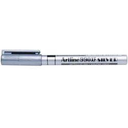 Artline 990XF Metallic Marker Fine Bullet 1.2mm Silver