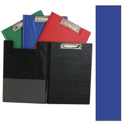 Marbig Clipfolders PE A4 Blue