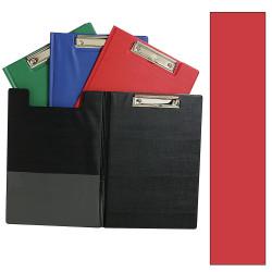 Marbig Clipfolders PE A4 Red