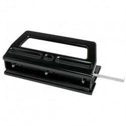 Rexel R2000 3 Hole Punch Heavy Duty Adjustable 40 Sheet Capacity Black