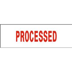 Deskmate Pre Ink Stamp P27 Processed Red