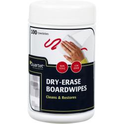 Quartet Dry-Erase Board Wipes Pack of 100