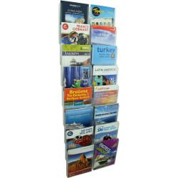 Esselte Cliplock Wall System A4 Brochure Holder 8 Tier 16Xa4 Pockets