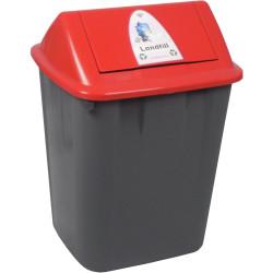 Italplast Waste Separation Bin Landfill 32 Litres