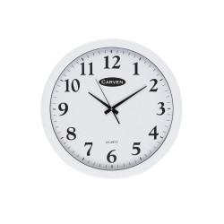 Carven Wall Clock 45cm Diameter White