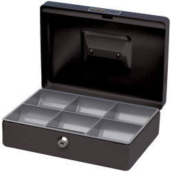 Esselte Classic Cash Box No.10 250x180x80mm Black