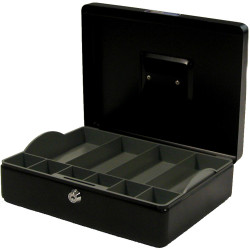Esselte Classic Cash Box No.12 300x230x90mm Black