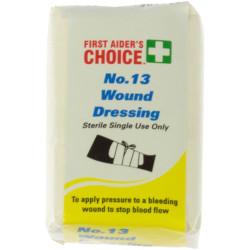 Trafalgar Wound Dressings No.13 Single Use