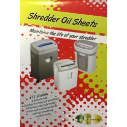 Gold Sovereign Shredder Oil Sheets Pack of 12