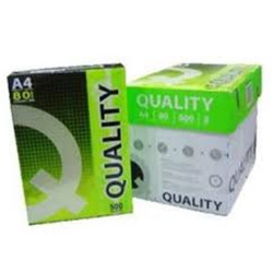 QUALITY  PAPER A4 80gsm white