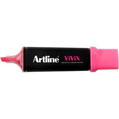 Artline Vivix Highlighter Marker Chisel 1-4mm Pink